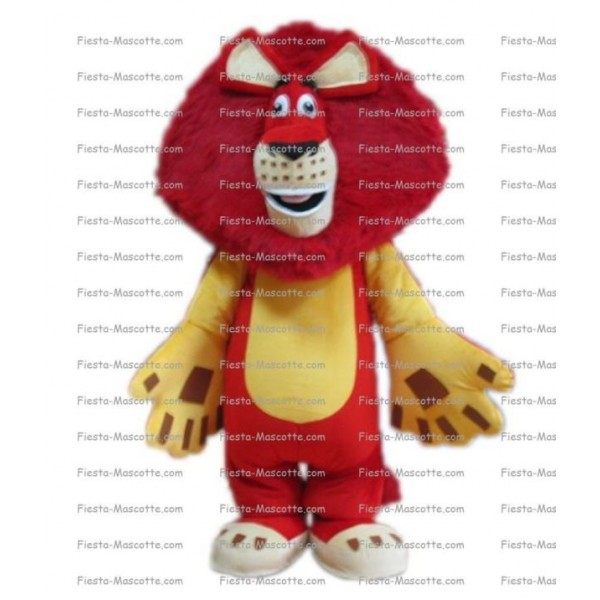 Buy cheap Lion mascot costume.