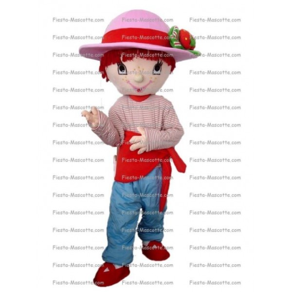 Buy cheap Strawberry Charlotte mascot costume.