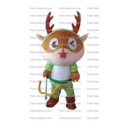 Buy cheap Deer character mascot costume.