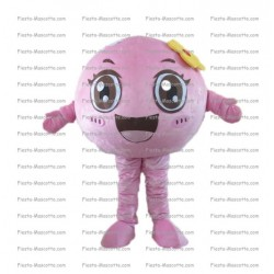Buy cheap Pink ball mascot costume.