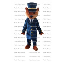Buy cheap Police bear mascot costume.