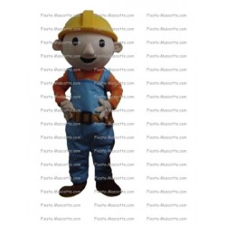 Buy cheap Bob the builder mascot costume.