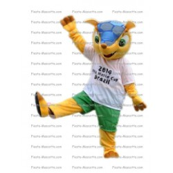 Buy cheap 2014 Brazil World Cup mascot costume.