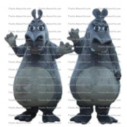 Buy cheap Hippopotamus Madagascar mascot costume.