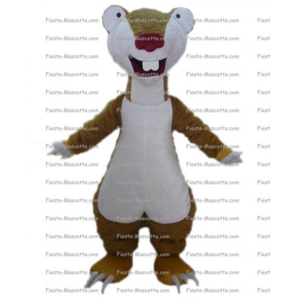 Buy cheap Sid ice age mascot costume.