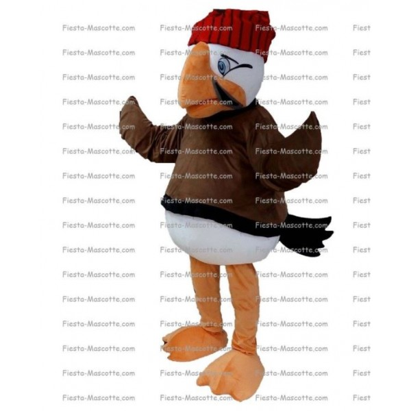 Buy cheap Pelican bird mascot costume.
