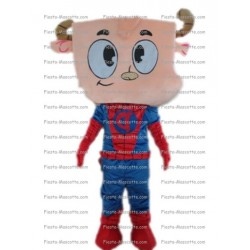 Buy cheap Super hero cow mascot costume.