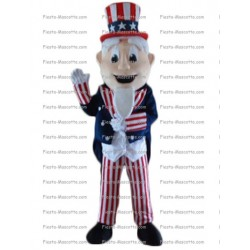 Buy cheap Uncle Sam mascot costume.