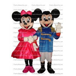 mascotte-Mickey-minnie