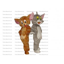 Buy cheap Cat and mouse tom and jerry mascot costume.
