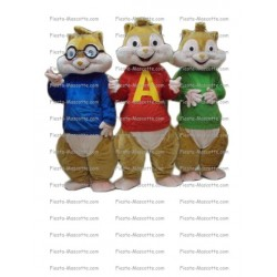 Buy cheap Alvin and the chipmunks mascot costume.