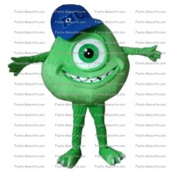Buy cheap eye monster company mascot costume.