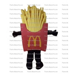 Buy cheap Fried Mac Donald mascot costume.
