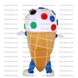 Buy cheap ice-cream cone mascot costume.