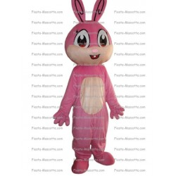 Buy cheap Pink rabbit mascot costume.