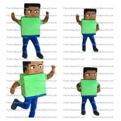 Buy cheap Mincraft cube character mascot costume.