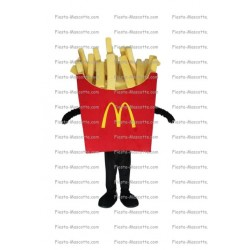 Buy cheap Cornet fries mac Donald mascot costume.