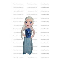 Buy cheap Elsa the Snow Queen mascot costume.