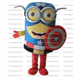 Buy cheap Minion captain america mascot costume.