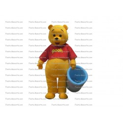 Buy cheap Bear Winnie the pooh mascot costume.