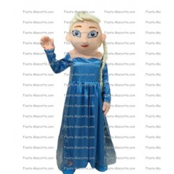 Buy cheap Elsa princess Snow Queen mascot costume.