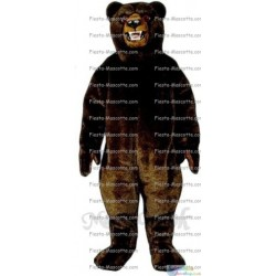 Buy cheap Grizzly bear mascot costume.