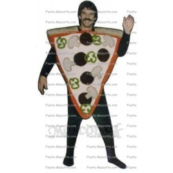 Buy cheap Piece of pizza mascot costume.