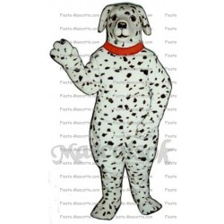 Buy cheap Dalmatian dog mascot costume.