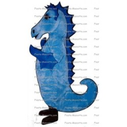 Buy cheap sea ​​horse mascot costume.