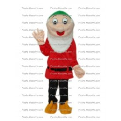 Buy cheap White 7 dwarfs mascot costume.