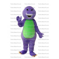 Buy cheap Barney mascot costume.
