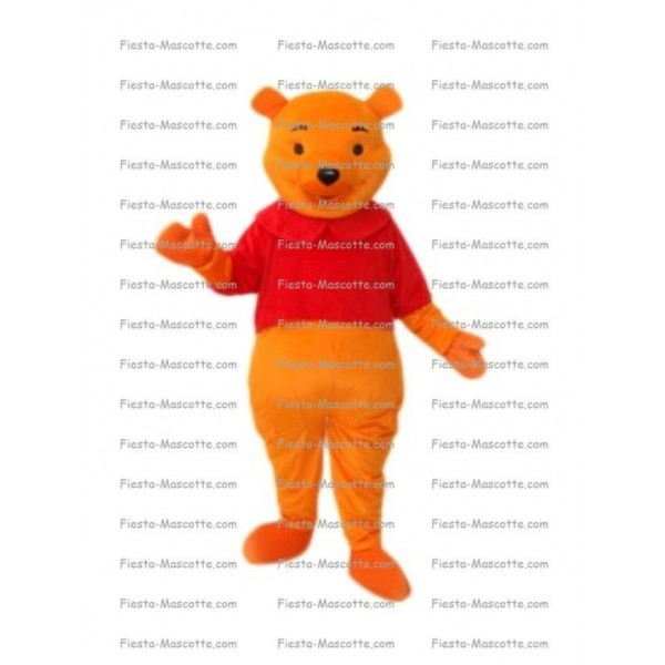 Buy cheap Winnie the Pooh bear mascot costume.