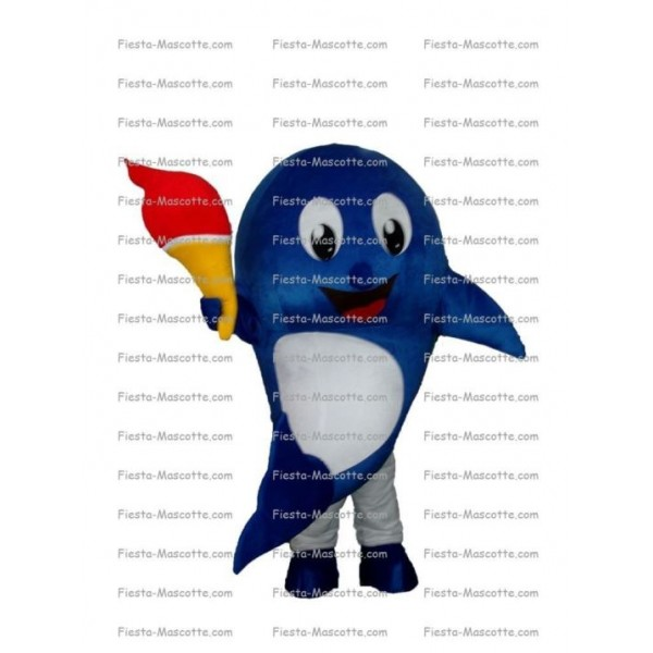 Buy cheap Dolphin mascot costume.