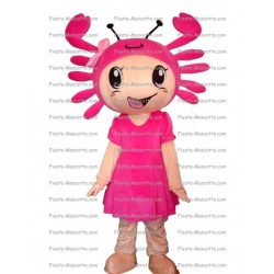 Buy cheap Crab Girl mascot costume.